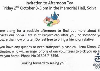 afternoon tea invite