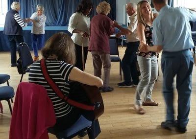 Dancing at Friday Club