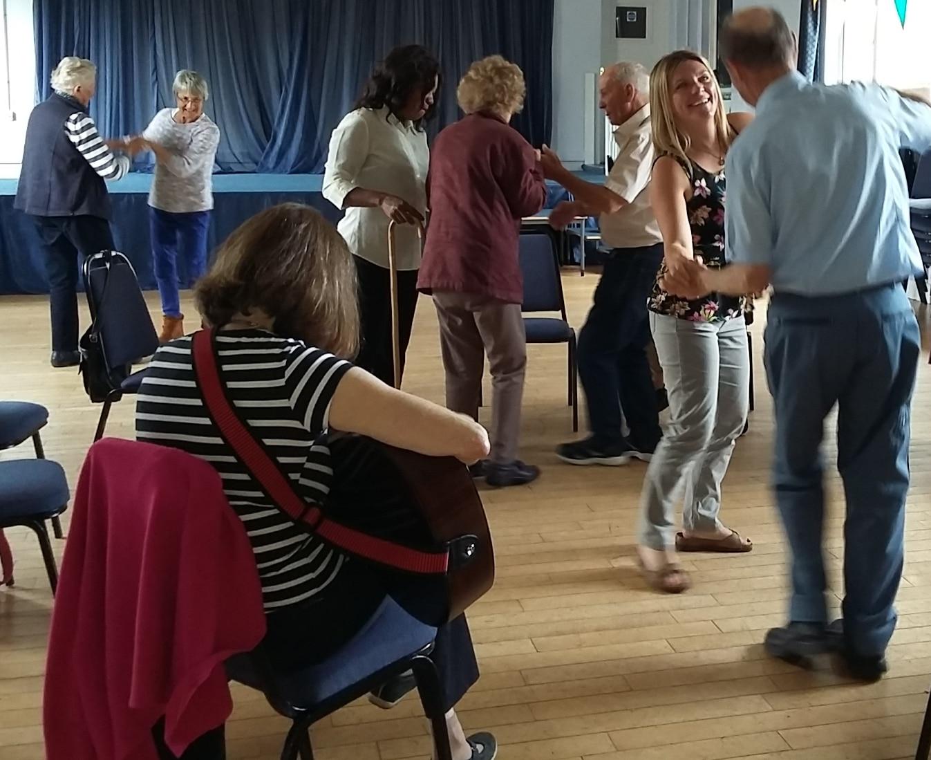 hall dancing