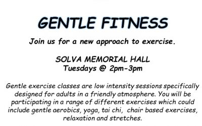 Gentle Fitness at Solva Memorial Hall