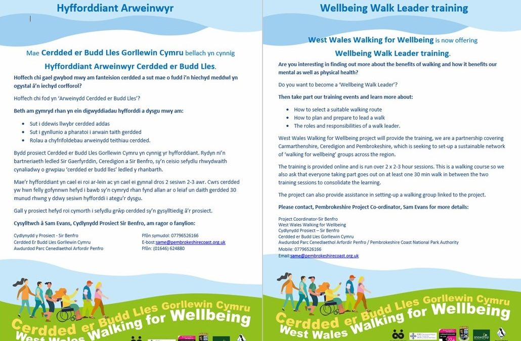 West Wales Walking for Wellbeing