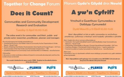 Does it Count? – join the first Together for Change forum