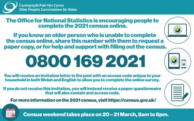 Help for older people with the 2021 census