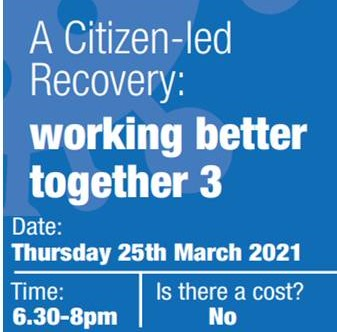 Town and Community Council Seminar 3 – save the date 25 March 6:30-8:00pm